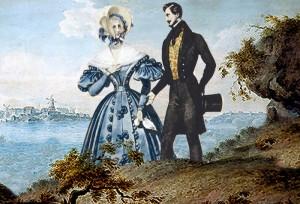 Seurapiirien suosikki Victor ja pikkupappilan mamselli Linda ovat häikäisevä pari. Mutta riittäkö se?