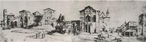 Lateraani, paavin palatsi ja basilika, sijaitsi varsinaisen kaupungin ulkopuolella. Siellä Constanzia joutui elämään sen jälkeen, kun Ferro Furni petti Furnin neuvottelijasuvun perinteet. Palatsi ja basilika sijaitsivat maaseudulla kaukana kaupungin keskuksesta, Pietarinkirkosta, joka oli milloin minkin taistelevan joukkion hallussa.